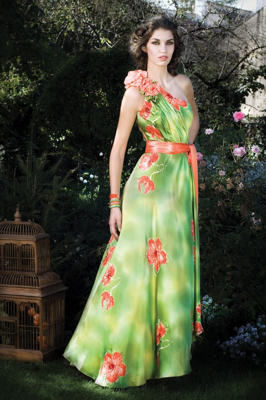 Rochia Begonia rochie de seara cu imprimeu floral