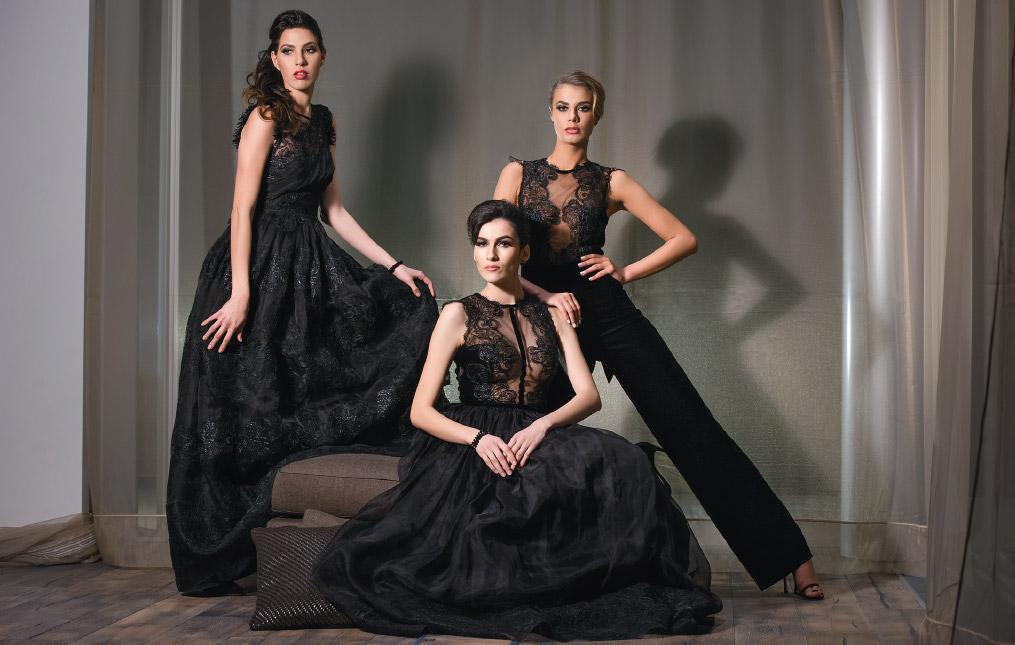 Divina colectie rochii pentru evenimente speciale designer Cosmina Englizian