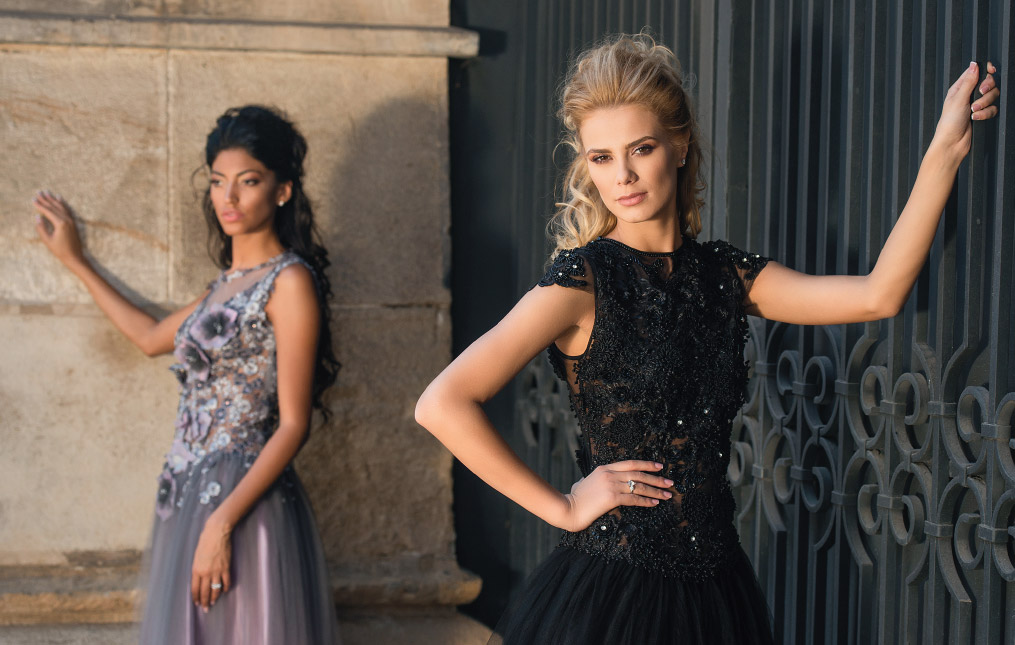 Divina colectie rochii de seara designer Cosmina Englizian