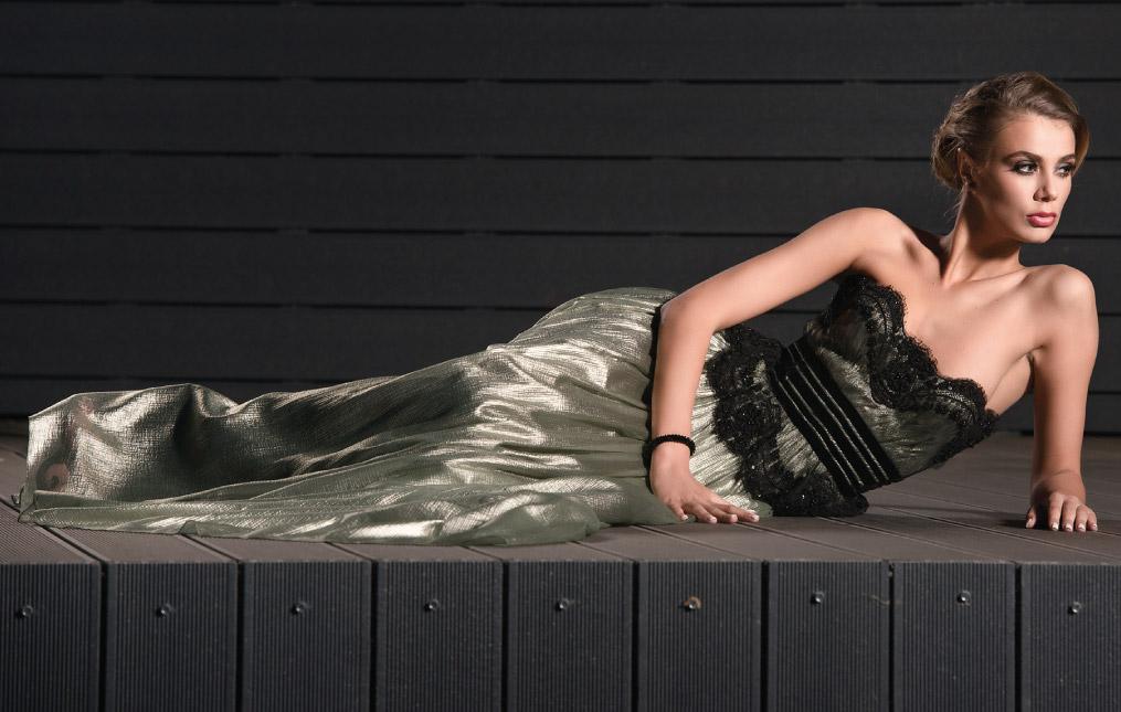 Mon Amour colectie rochii de seara designer Cosmina Englizian