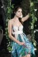 Rochie de seara cu imprimeu floral Lilly