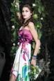 Rochie de seara cu imprimeu floral Orchid