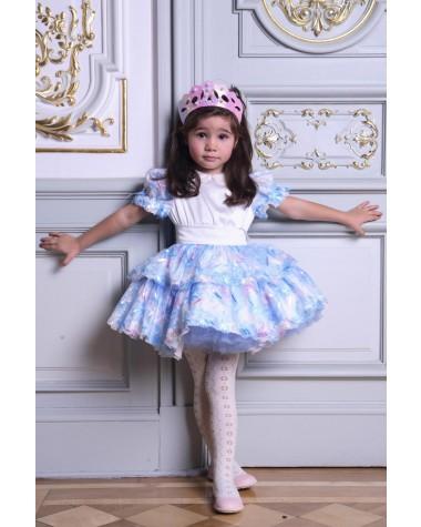 Rochia Lollipop creata pentru ocazii speciale fetite