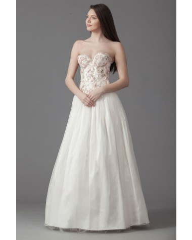 Rochie de mireasa cu corset Hortensia