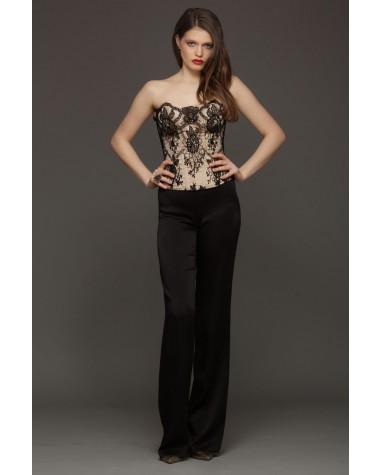 Salopeta de seara cu corset Etia