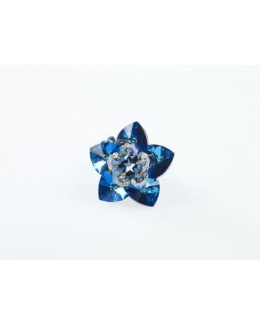 Model 1 - Pandant Floare cu cristale Swarovski