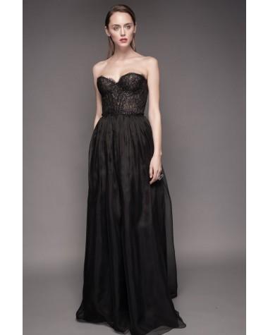 Rochie de seara cu corset de dantela Inessa