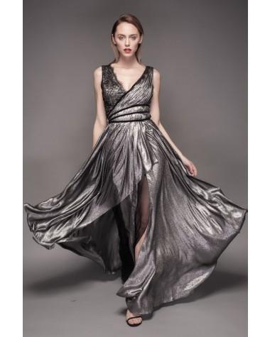 Rochie de seara din matase Isadora - Cosmina Englizian 2016